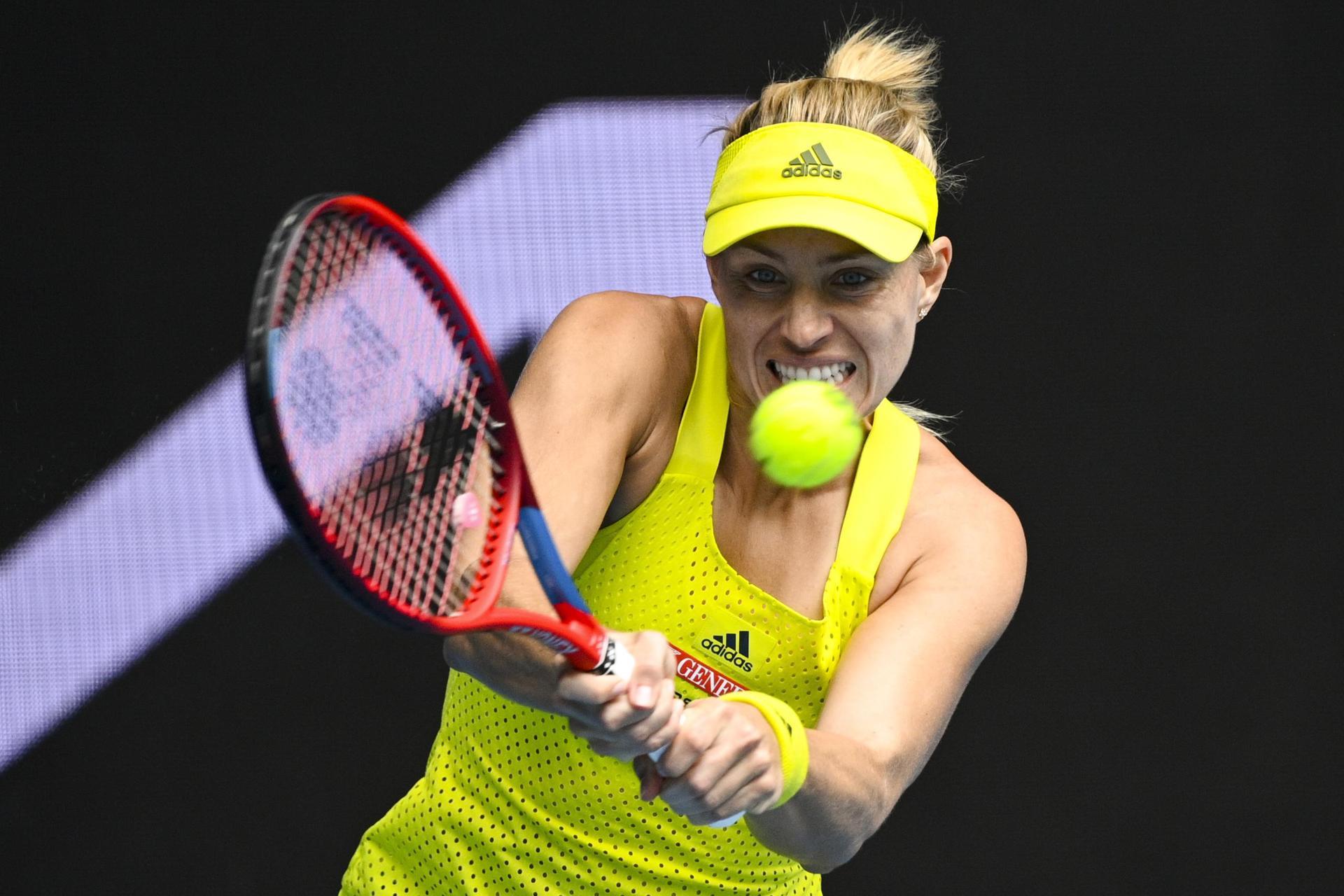 Kampf gegen die Formkrise: Kerber freut sich über 6:0, 6:0 Tennis