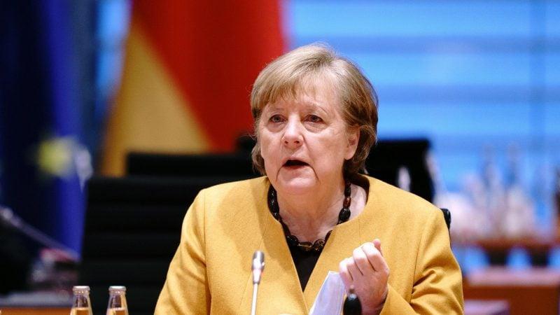 Kabinett Kanzlerin Merkl