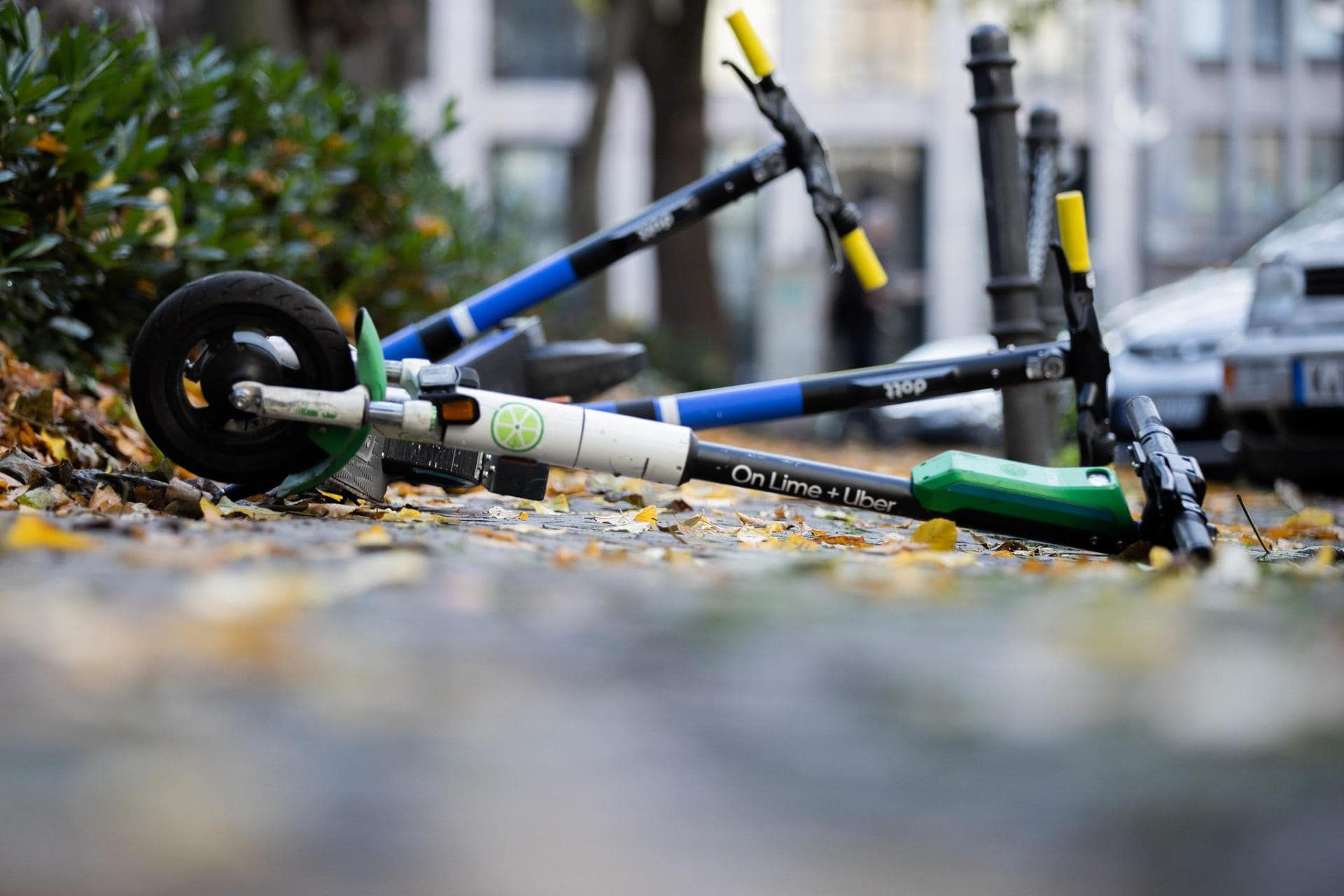 Mehr als 2100 schwere E-Scooter-Unfälle 2020 Statistisches Bundesamt