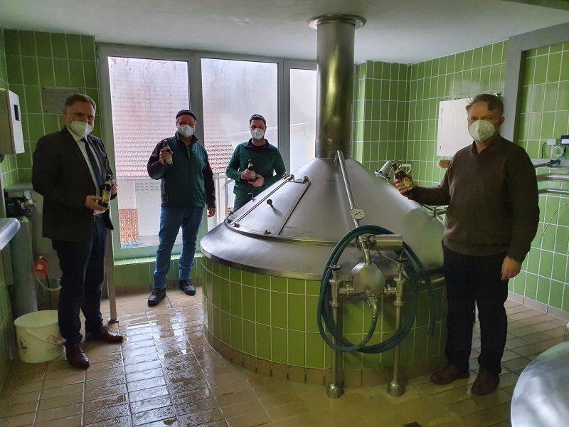 Brauereigaststätten bekommen Hilfen Bundestagsabgeordneter Peter Aumer freut sich, dass sein Einsatz erfolgreich war.