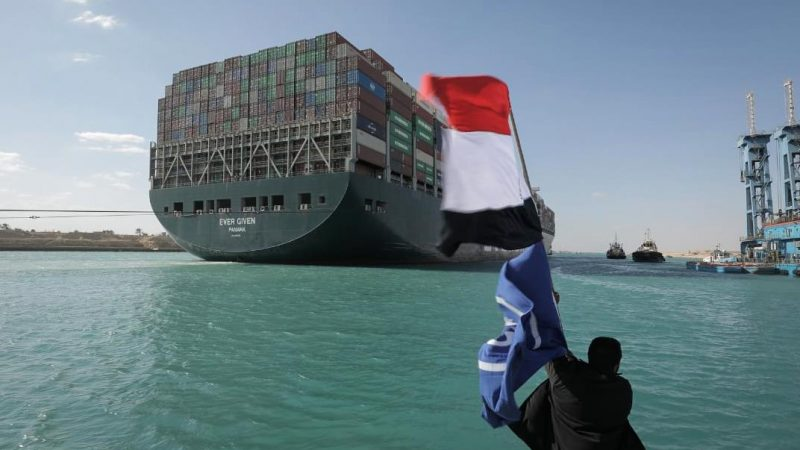 Suezkanal wieder frei