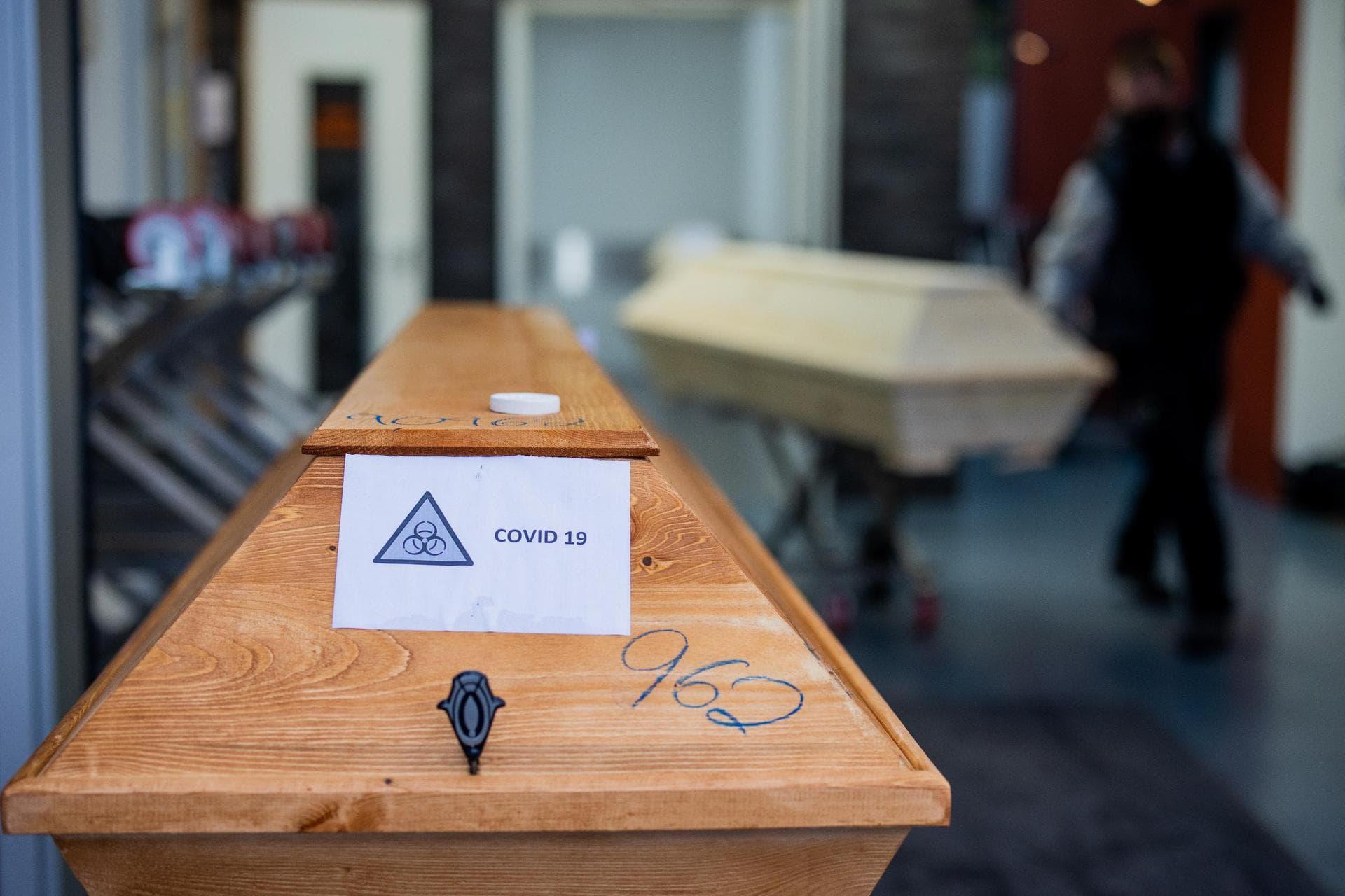 Tiefstand bei den Corona-Todesfällen RKI-Fallzahlen