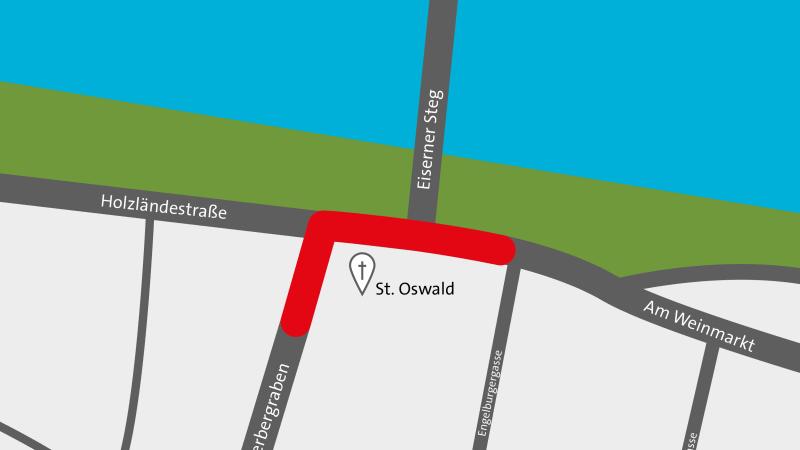 Thundorferstraße entfällt als Ost-West-Verbindung