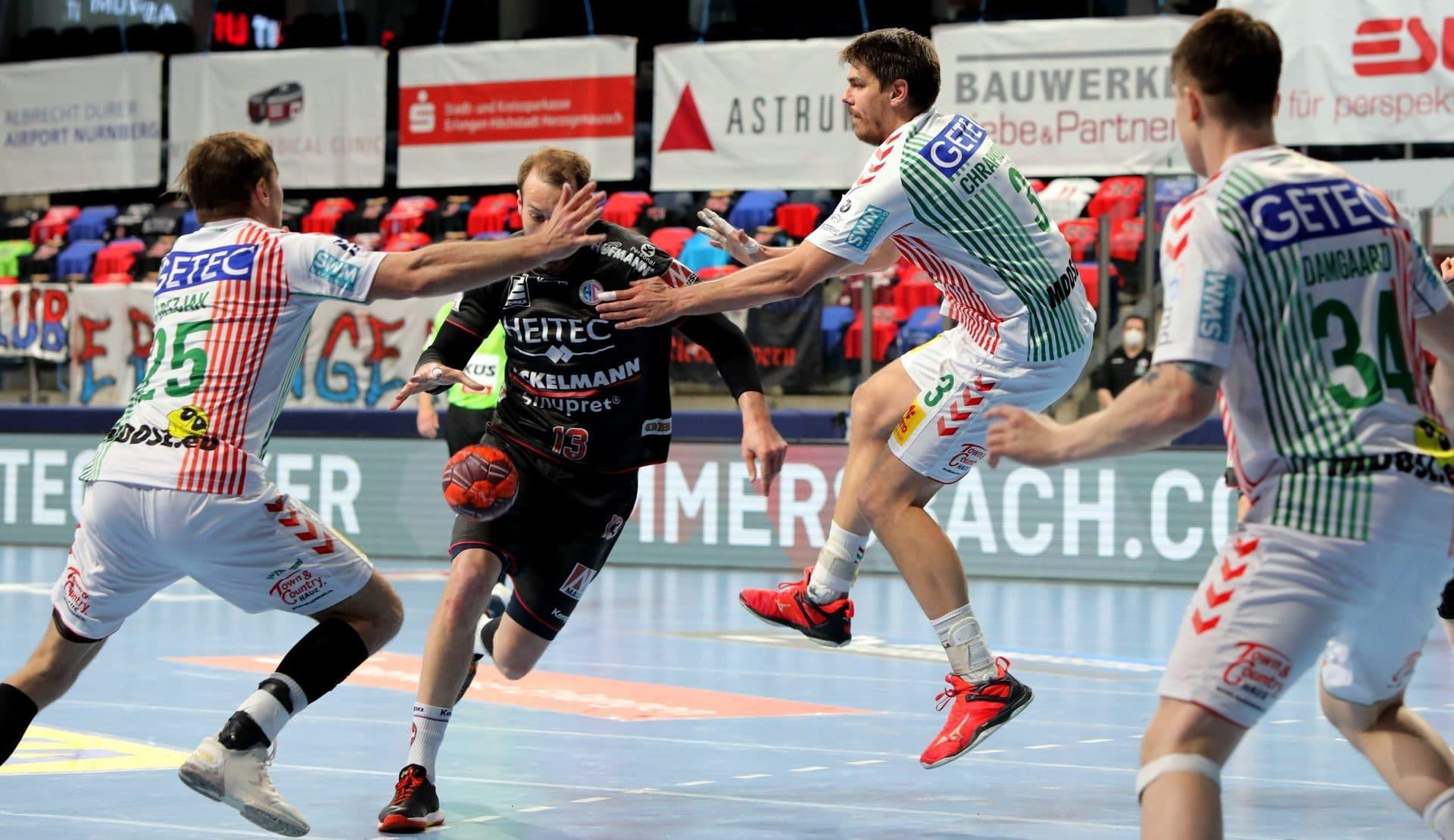 Handball-Überraschung: HC Erlangen gewinnt gegen den SC Magdeburg Klemen Ferlin verletzt sich