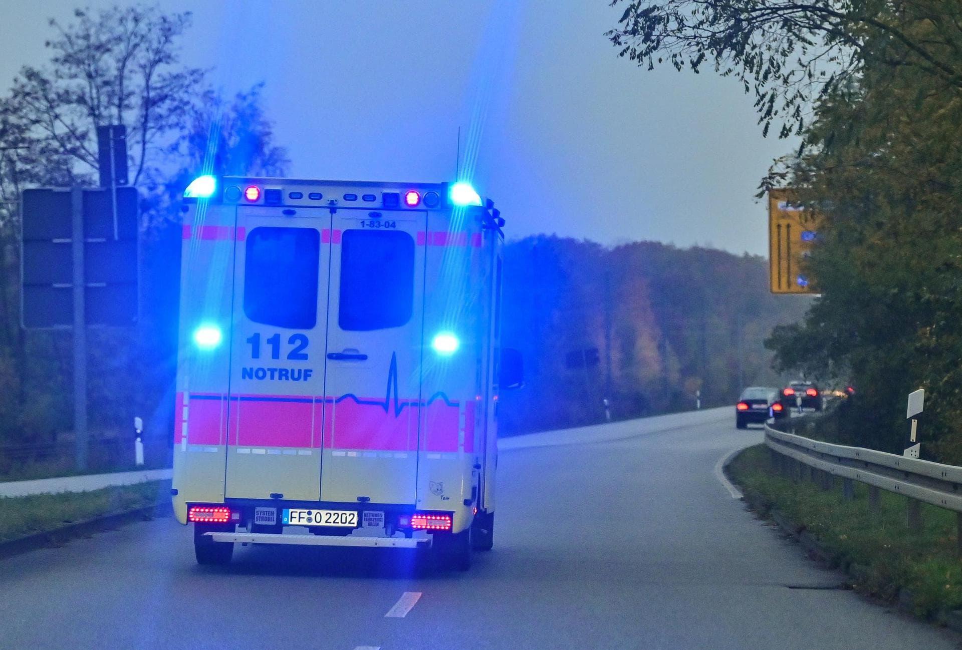 Wohnhausbrand in der Oberpfalz Acht Verletzte