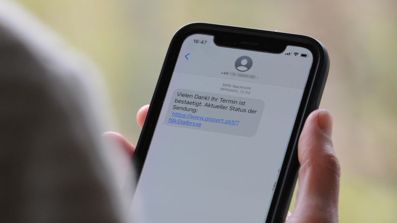 Betrugs-SMS
