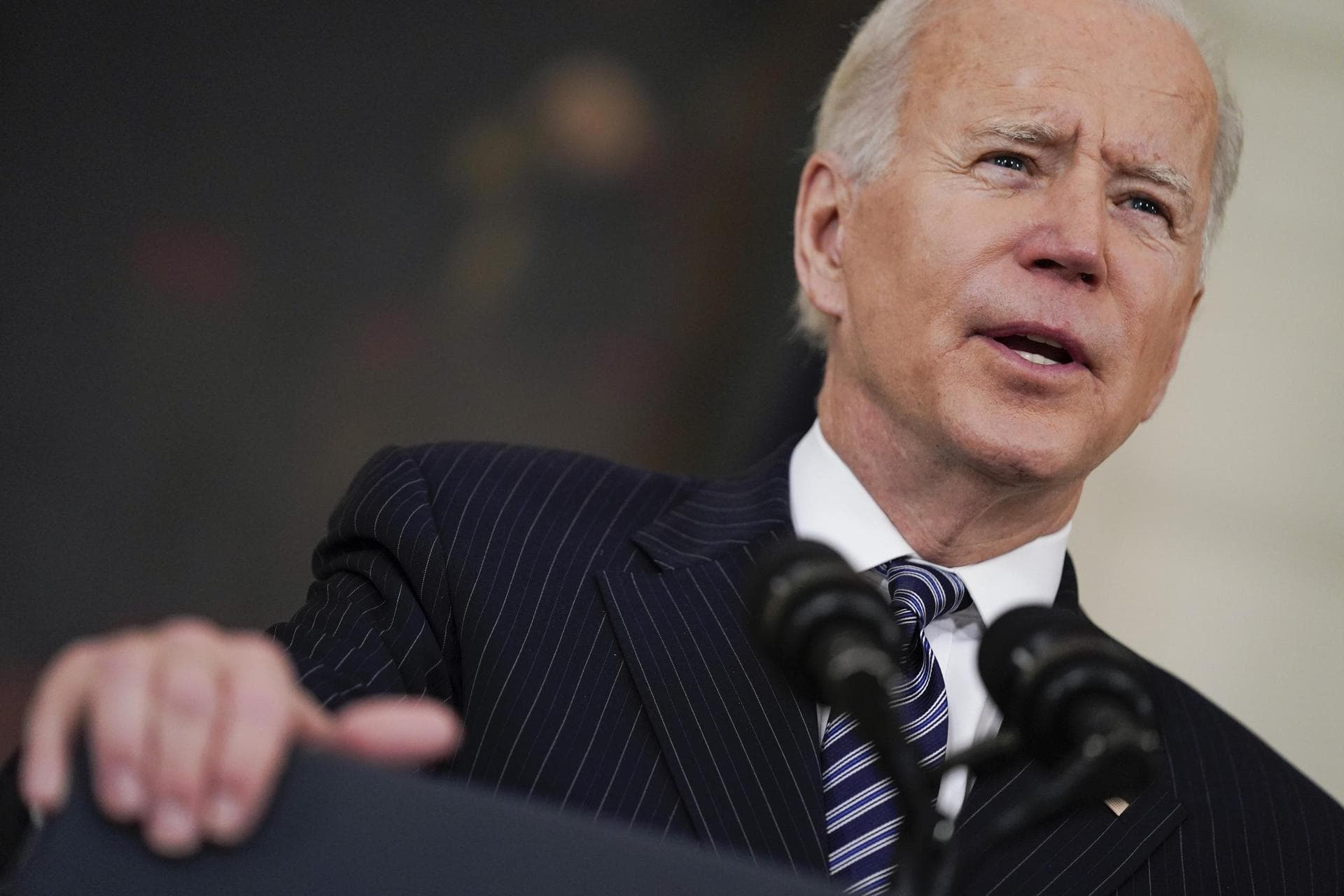 Biden: USA mit «unglaublichen Fortschritten» beim Impfen Corona-Pandemie
