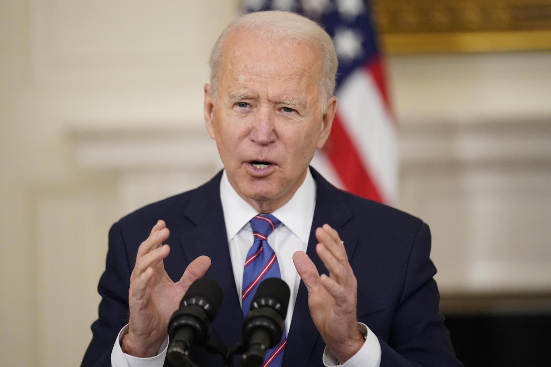 Biden setzt USA «ehrgeiziges» neues Klimaziel für 2030 Online-Klimagipfel