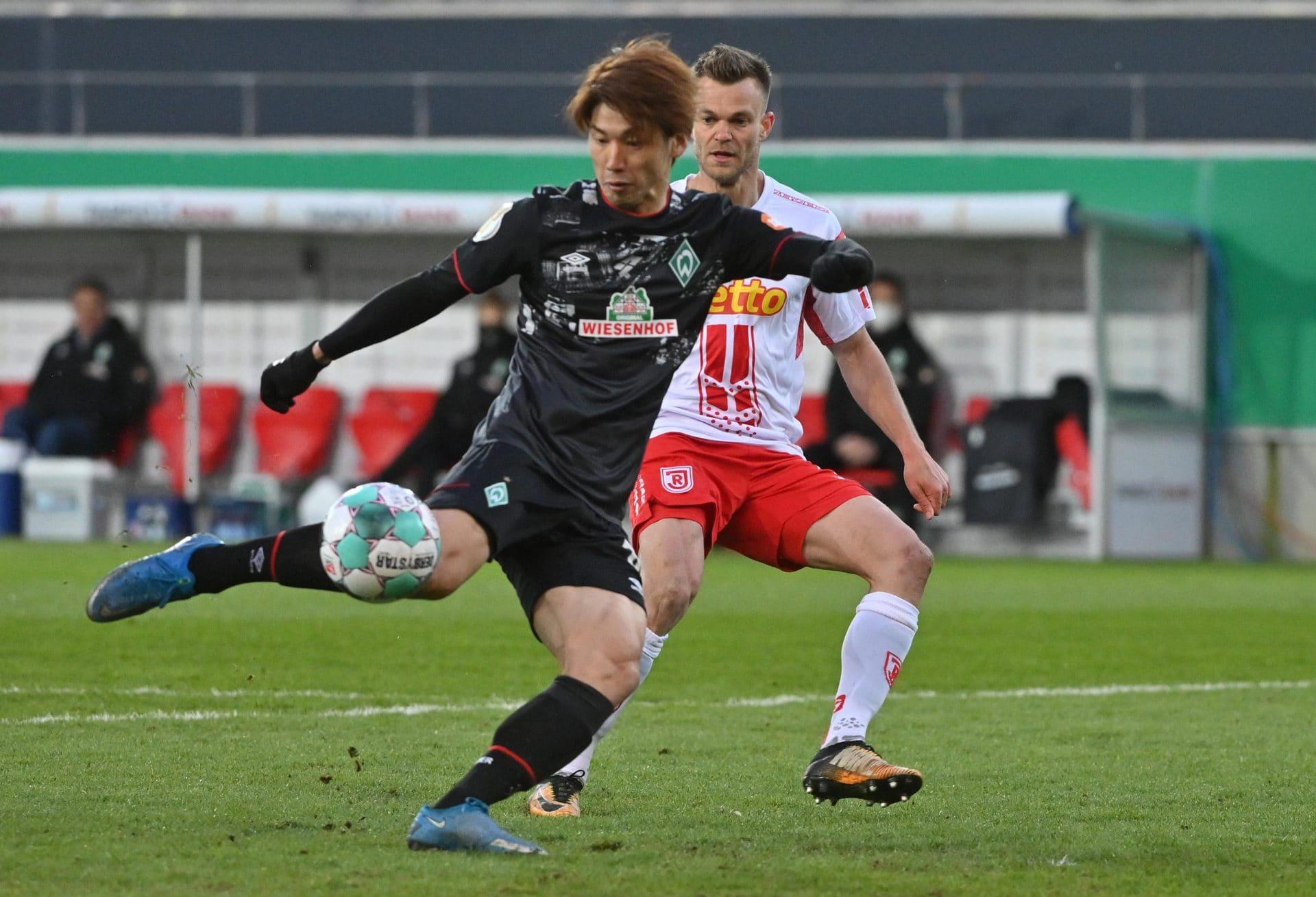 Werder bucht Halbfinal-Ticket gegen wackere Regensburger DFB-Pokal