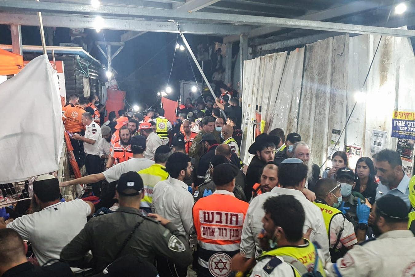 Dutzende Tote bei Massenpanik auf jüdischem Fest Israel