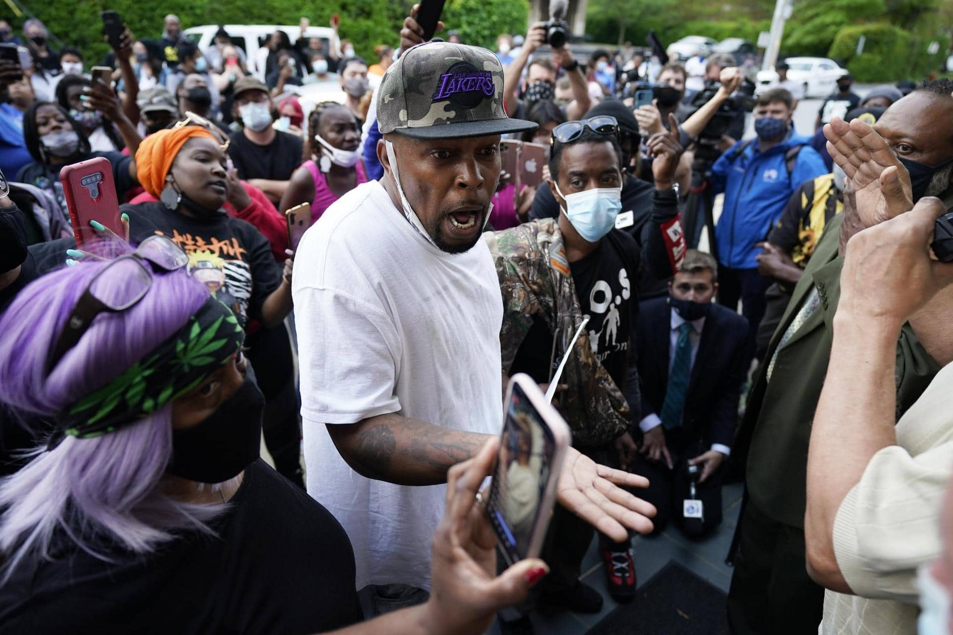 Erneut Schwarzer in den USA bei Polizeieinsatz erschossen Polizeigewalt in den USA