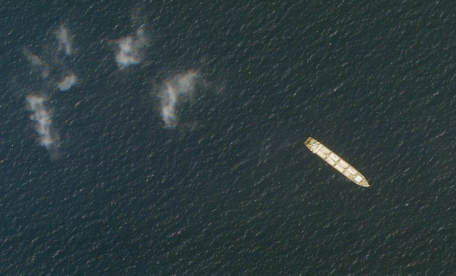 Explosion auf iranischem Schiff im Roten Meer Frachter auf Mine gelaufen