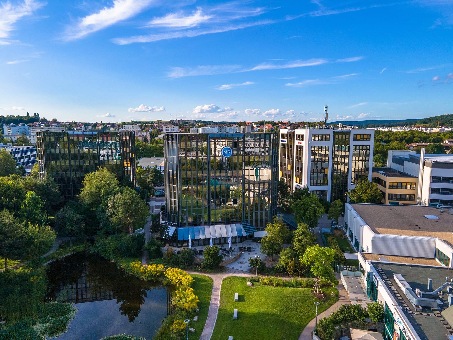 Regensburg: Neues Corona-Bürgertest-Zentrum im Gewerbepark Beschäftigte und Besucher können ab 3. Mai den kostenlosen Bürgertest durchführen