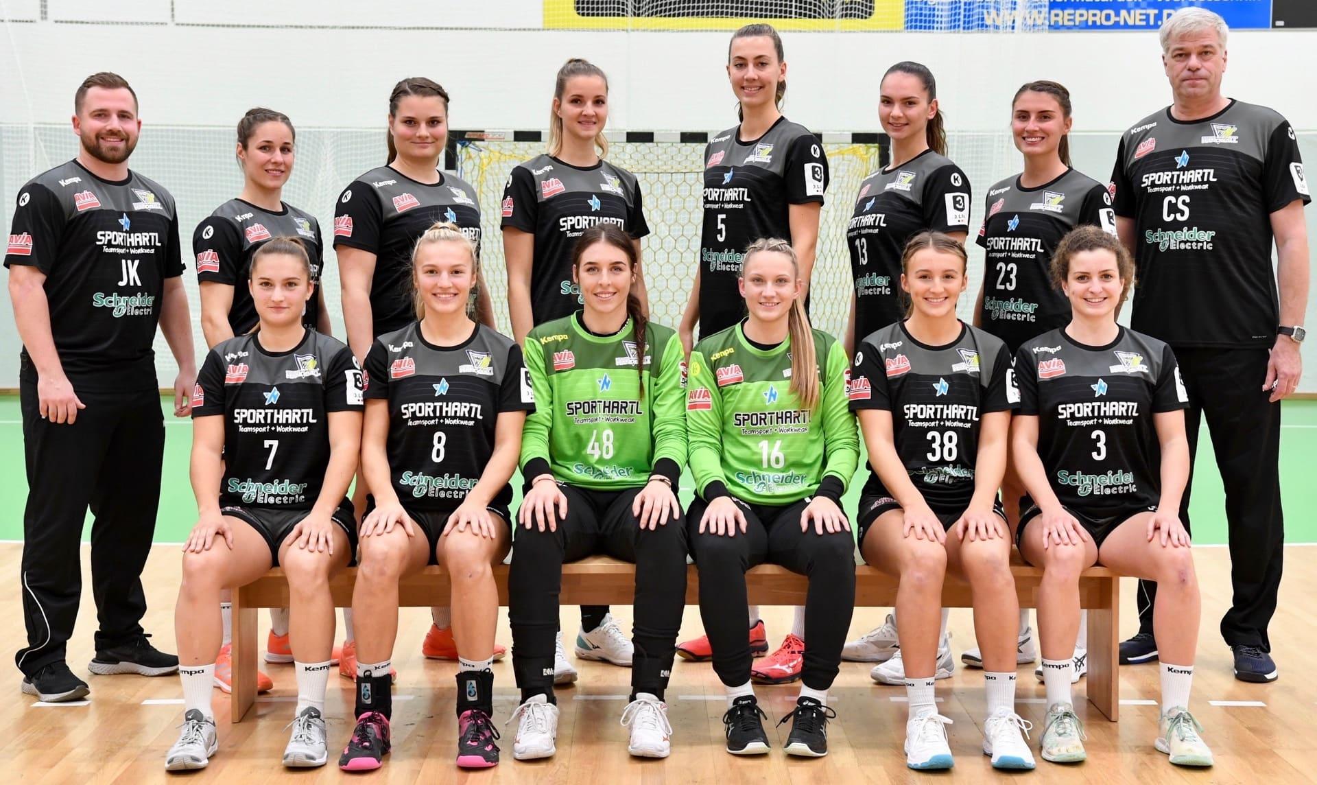 Bunker Ladies starten gegen Frankfurter HC Erstes Aufstiegsspiel zur 2. Handball-Bundesliga am Sonntag