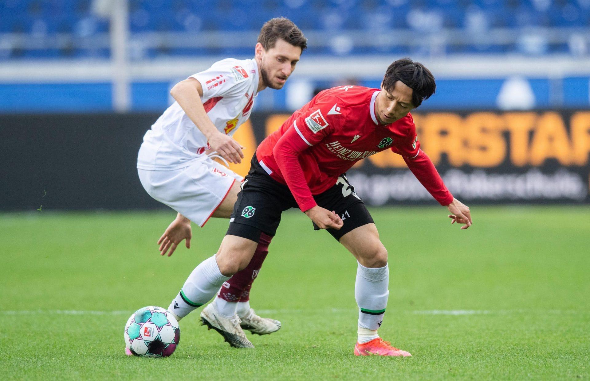 Jahn Regensburg nach 1:3 in Hannover im Tabellenkeller 2. Bundesliga