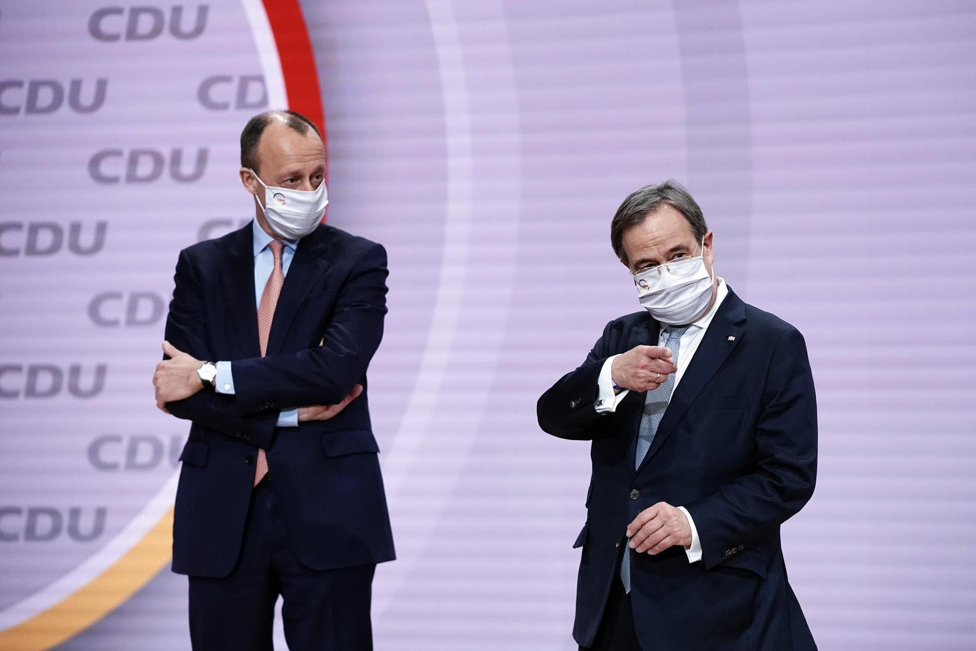 Laschet holt Merz in sein Wahlkampfteam Vor der Bundestagswahl