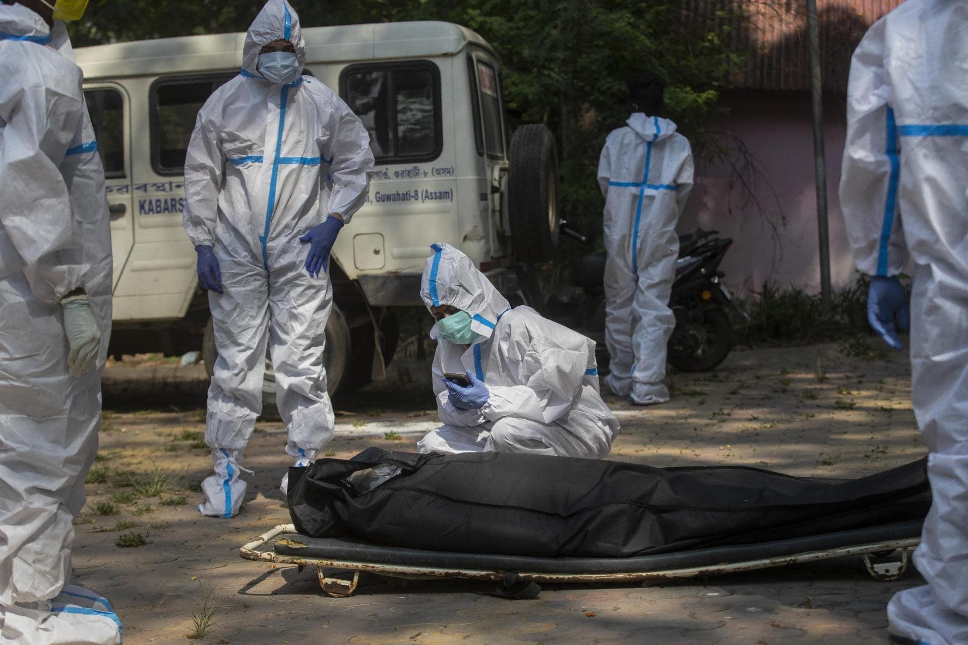 Mehr als 200.000 Corona-Tote in Indien Corona-Pandemie