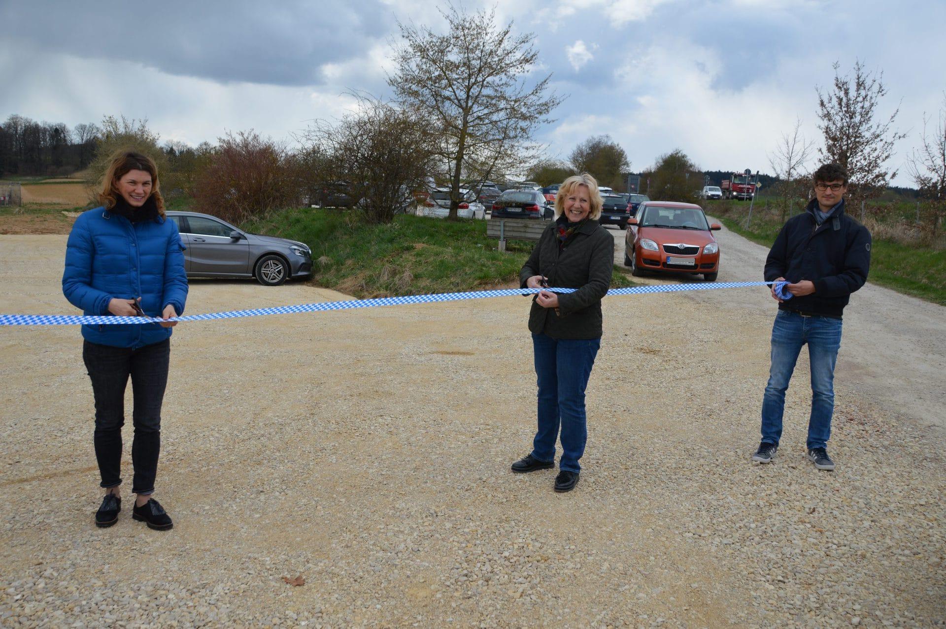 Pentling: 40 zusätzliche Parkplätze für Pendlerparkplatz Erweiterung abgeschlossen