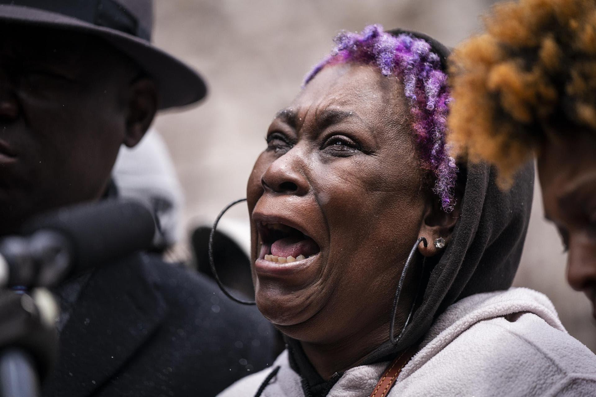 Proteste nach Tötung eines Schwarzen in den USA Polizeigewalt