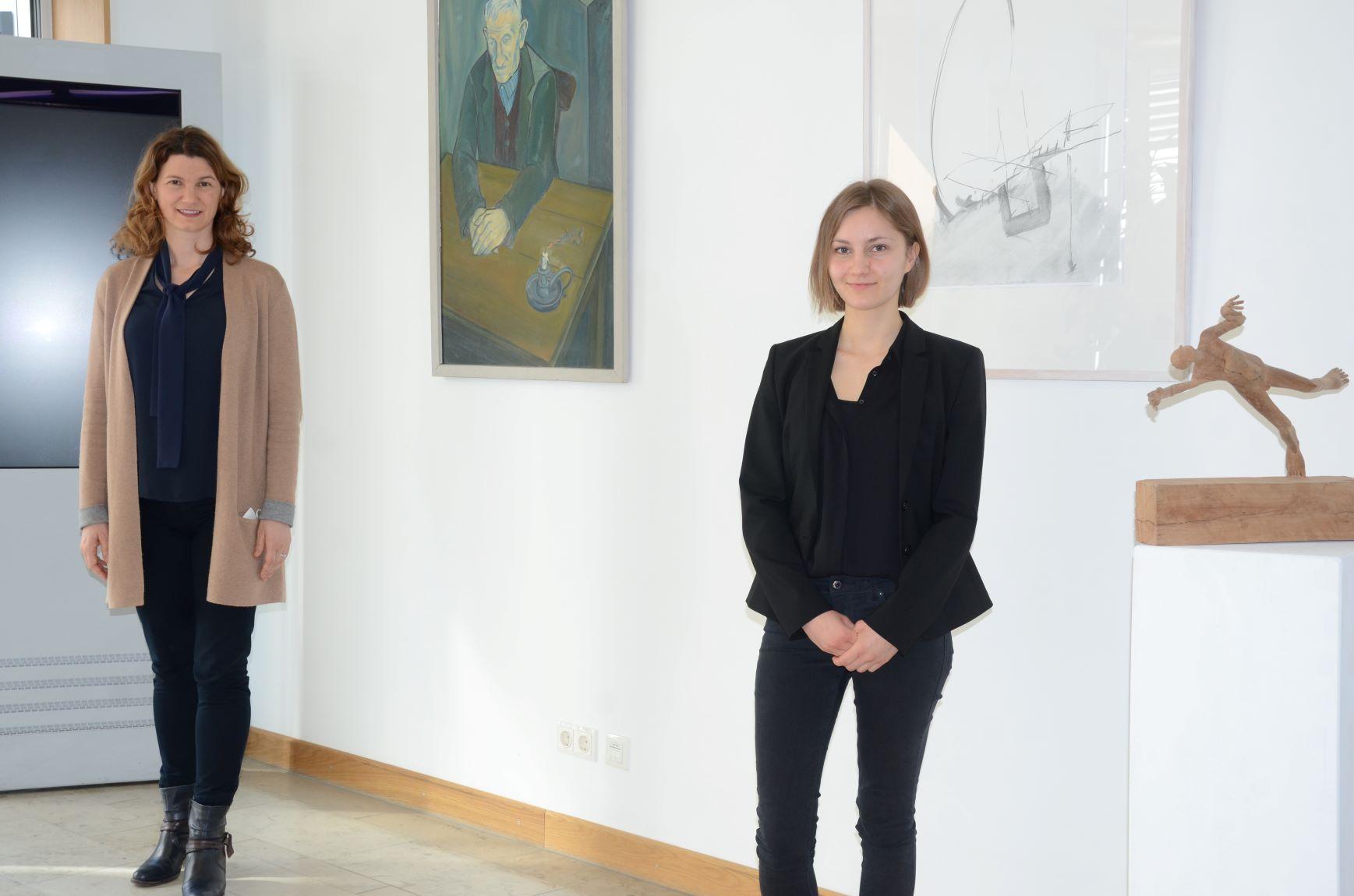 "Kunstaustellung im Landratsamt Regensburg ""Landkreisvielfalt"""