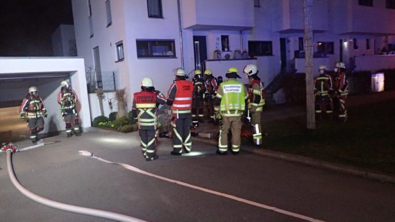 Regensburg: Feuerwehr löscht Brand in Dechbetten Defekte Elektroanlage löst Einsatz im Rupert-Preißl-Weg aus