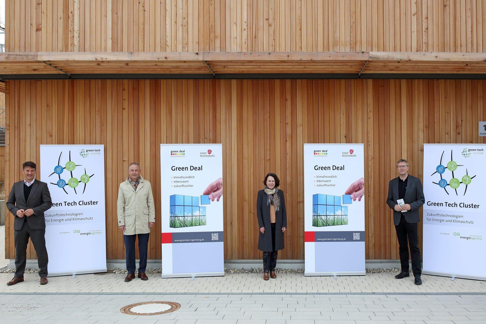 """""""Green Deal Regensburg"""" Stadt will bis 2050 klimaneutral werden"""