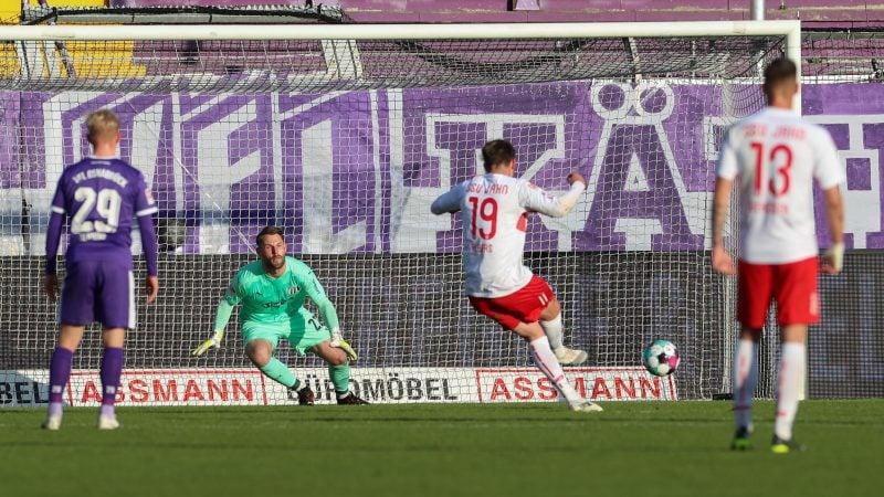 Andreas Albers schießt den Jahn zum Sieg Nach 1:0 in Osnabrück: Am Sonntag kommt Heidenheim nach Regensburg