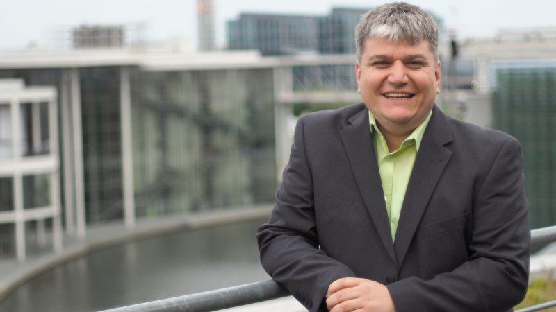 Stefan Schmidt ist ein Kandidat für den Bundestag Auch Wiebke Richter belegt einen aussichtsreichen Platz in der bayerischen Landesliste der Grünen