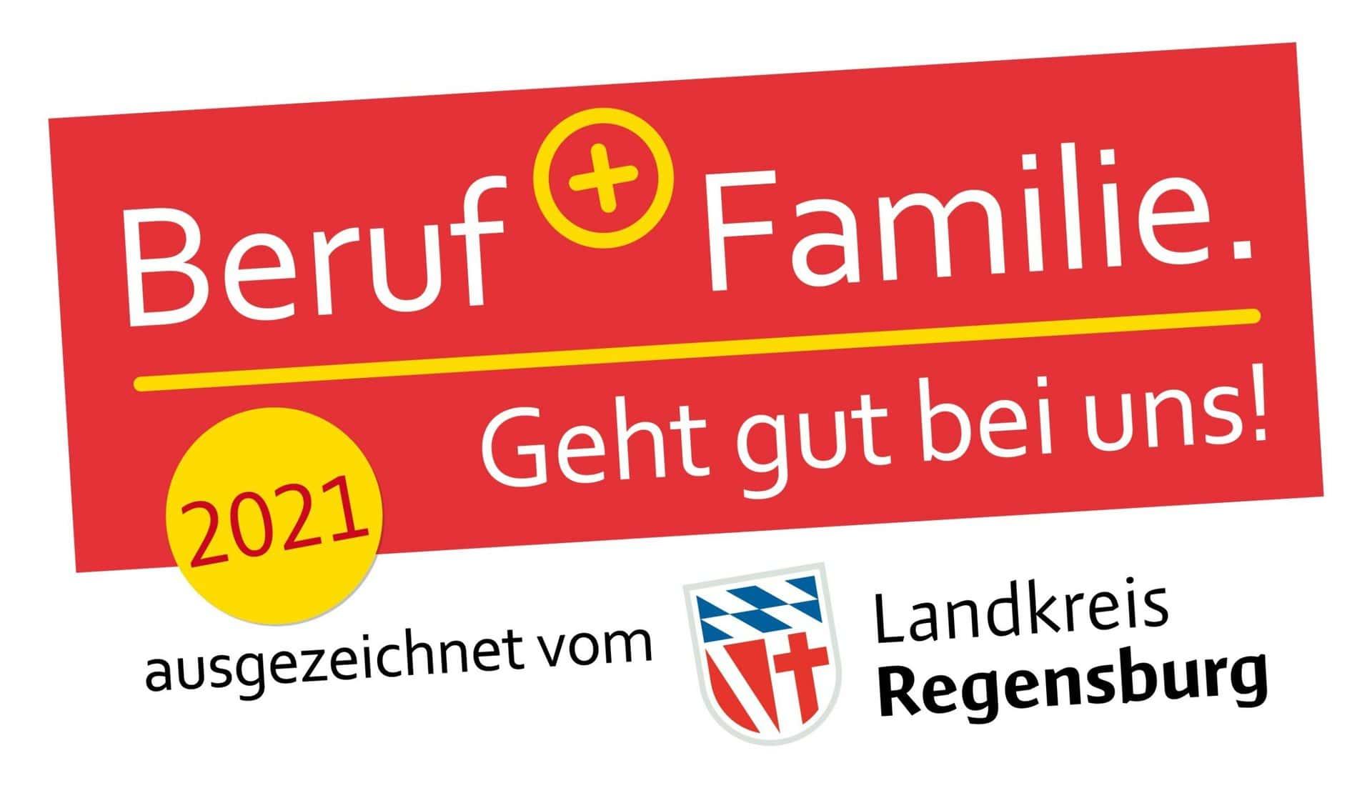 Landkreis Regensburg startet neue Bewerbungsrunde Beruf + Familie. Geht gut bei uns!