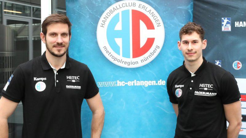 HCE-Trainer Michael Haaß und Max Jaeger