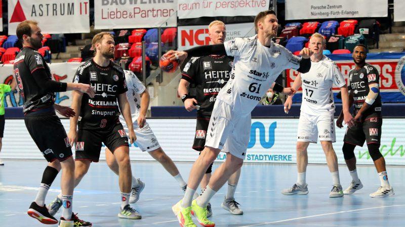 HC Erlangen muss sich dem Weltklasseteam des THW Kiel geschlagen geben