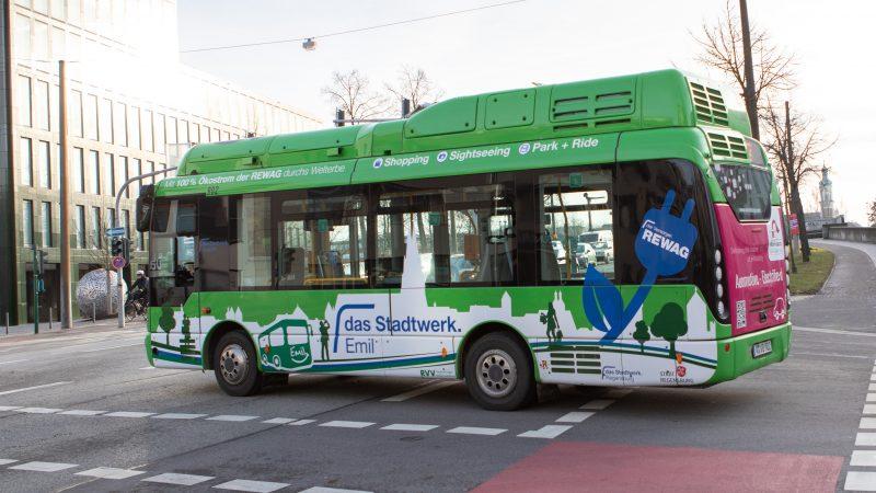 Regensburg: Kostenloser Altstadtbus ab 1. Juni Stärkung des öffentlichen Personennahverkehrs