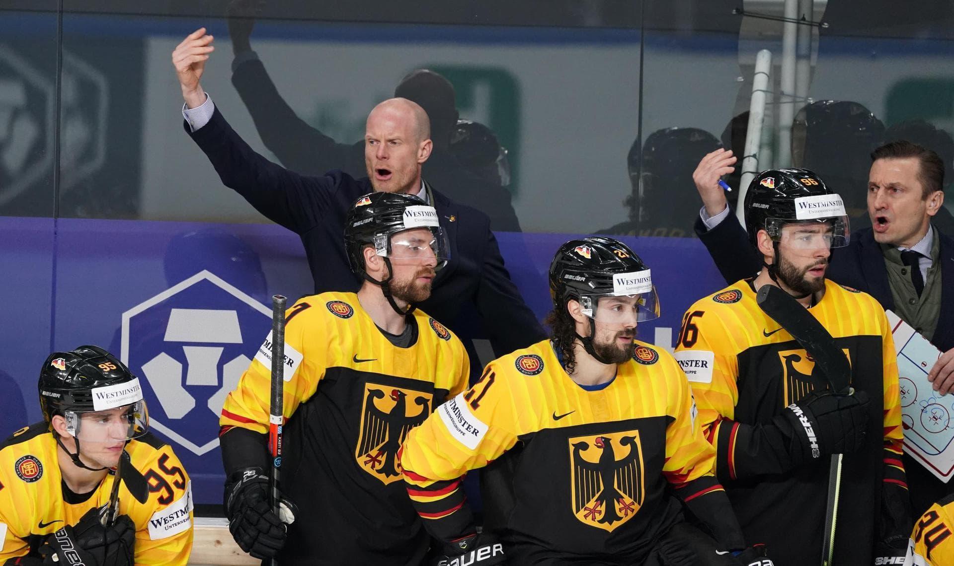 DEB-Team vor entscheidenden Spielen – Zunächst gegen USA Eishockey-WM