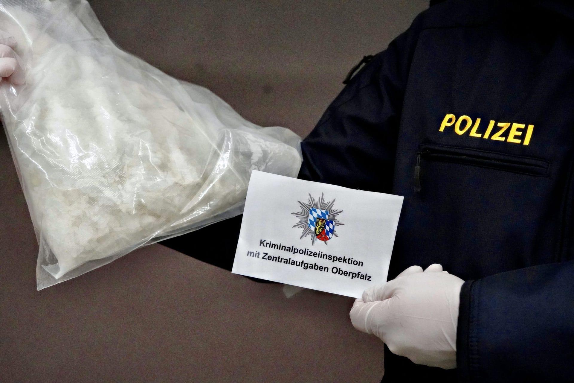 Regensburg: Crystal im Kilobereich sichergestellt Schlag gegen Drogenkriminalität