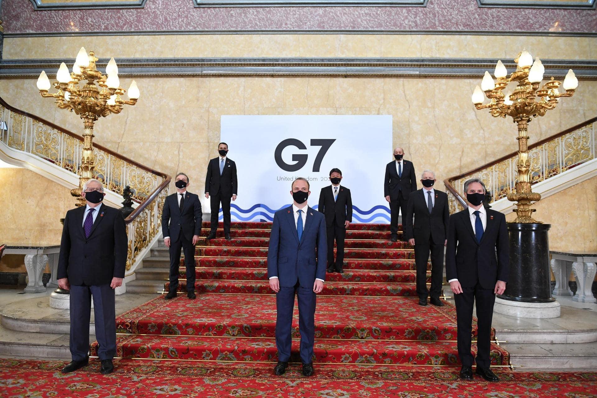"""Ringen um gemeinsame China-Strategie Treffen in London der G7-Außenminister / Maas: """"Fragen der Menschenrechte größeren Raum geben"""""""