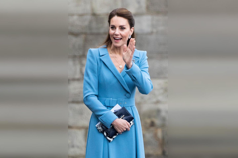Herzogin Kate erhält erste Corona-Impfung Britische Royals