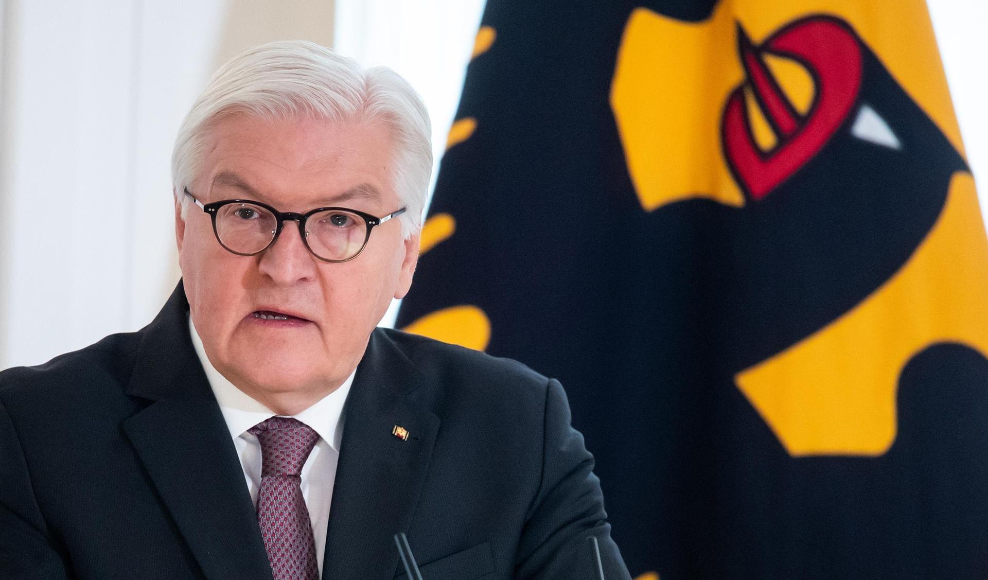 Steinmeier steht für zweite Amtszeit bereit Bundespräsident