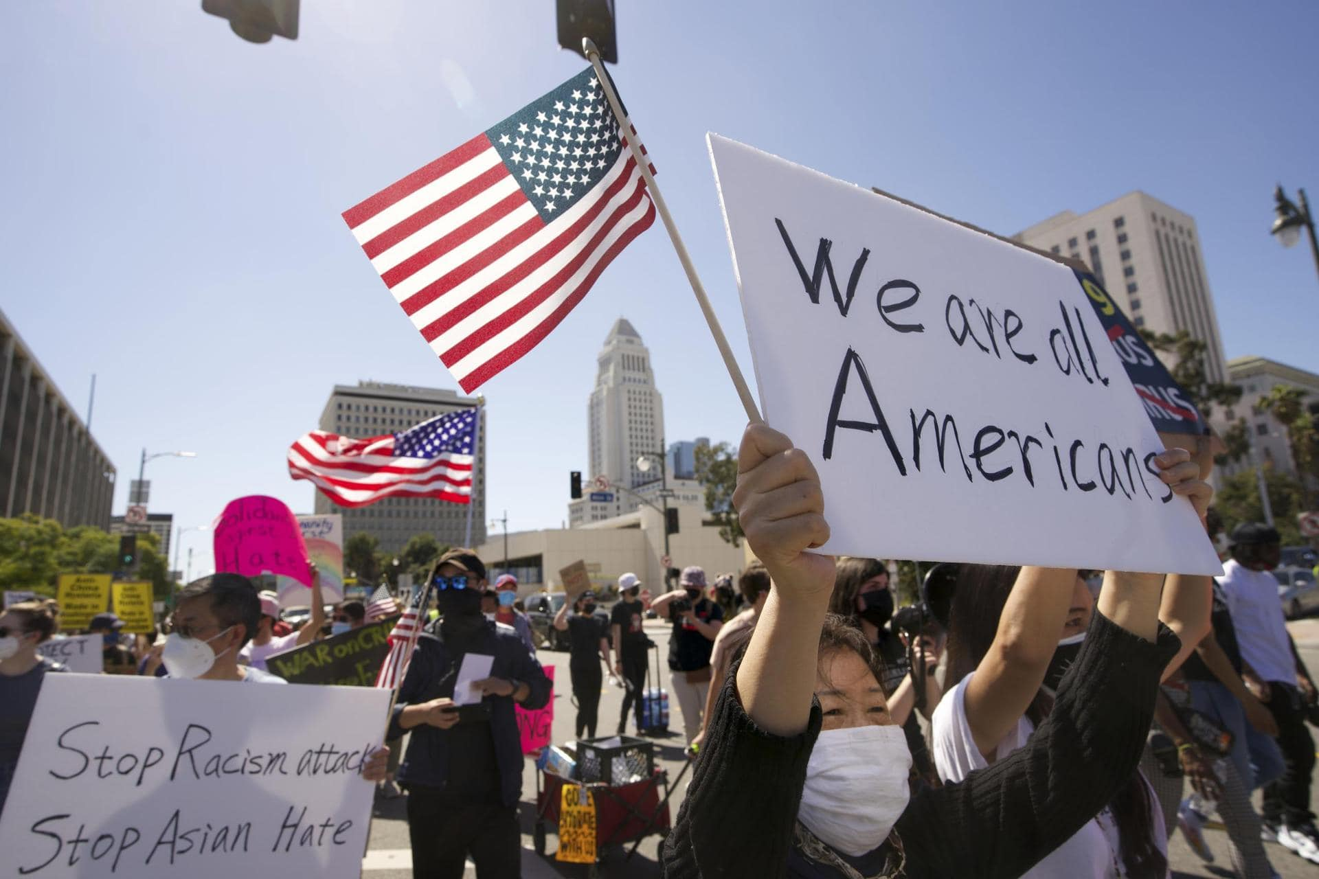 USA verschärfen Kampf gegen anti-asiatische Hassverbrechen Neues Gesetz