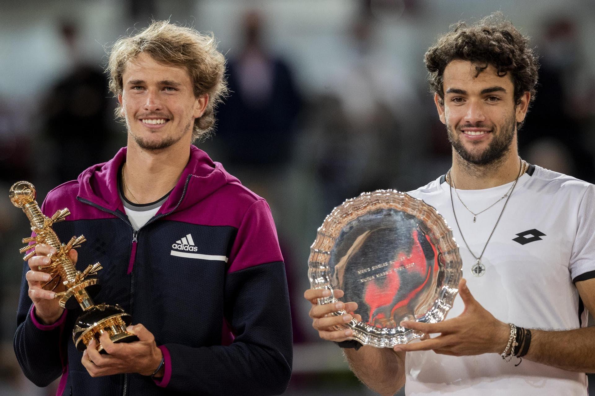 «Unglaubliches Gefühl»: Alexander Zverev siegt in Madrid ATP-Tennis-Turnier