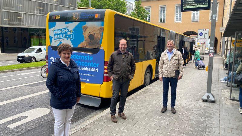 Video-Überwachung in Regensburger Bussen CSU setzt einen Punkt um, den sie im Koalitionsvertrag mit ausgehandelt hatte