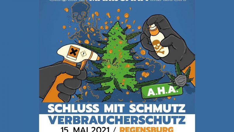 "Deutscher Hanfverband Demonstration ""Global Marijuana March"""