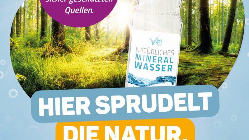 Mineralwasser ist ein einzigartiges Naturprodukt Labertaler informiert