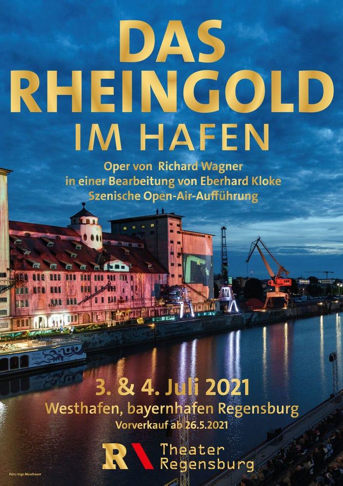 """Open-Air-Spektakel """"Das Rheingold"""" Theater Regensburg startet in die Freilicht-Saison / Tickets: Vorverkaufsstart ab 26. Mai"""