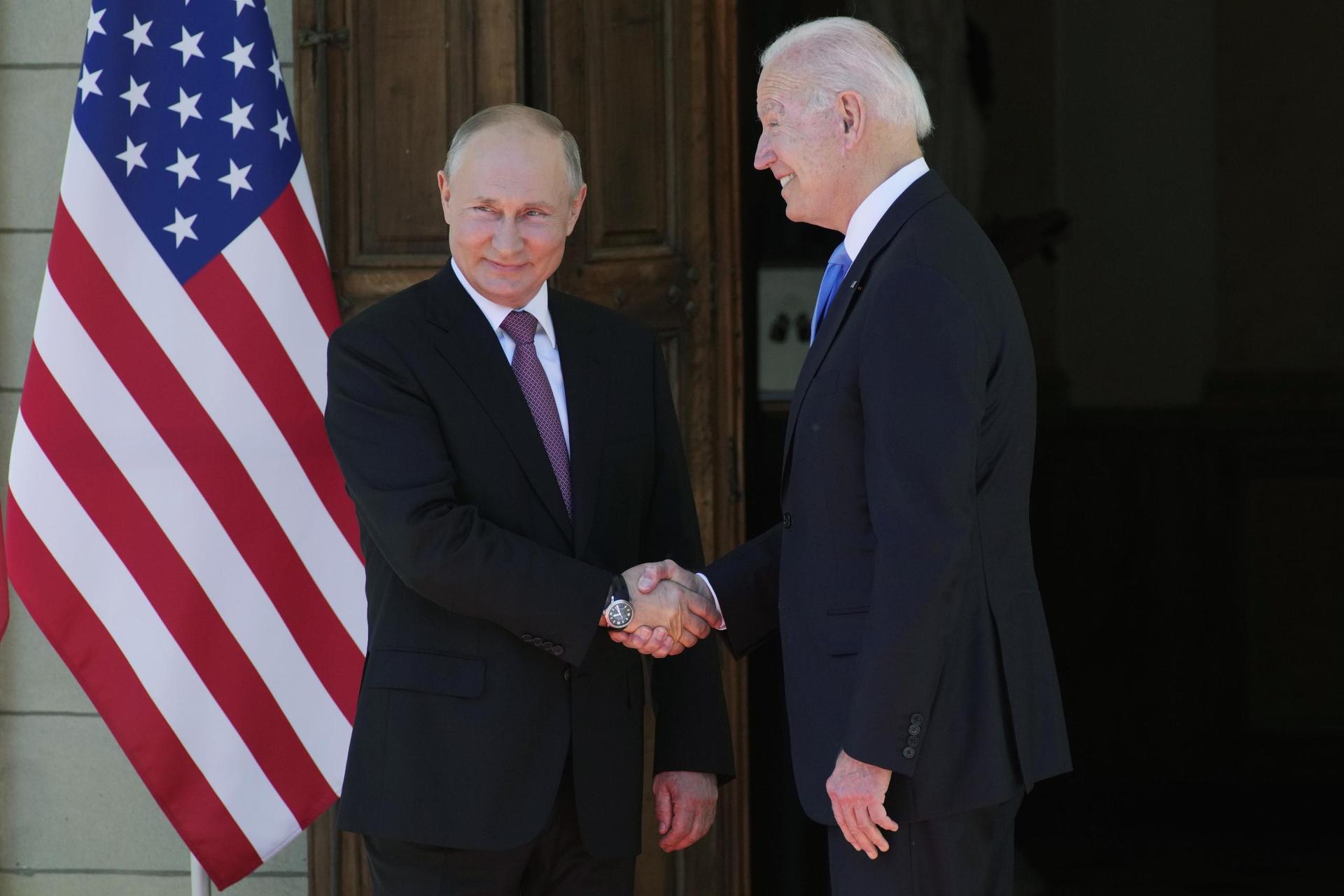 Biden und Putin zu historischem Gipfel in Genf USA - Russland