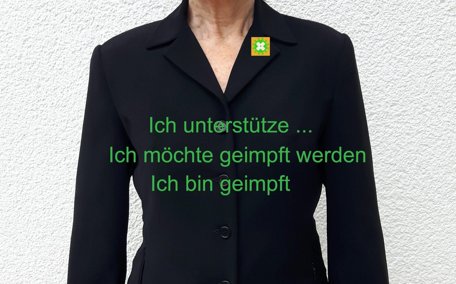 Maria Maier hat Erfolg mit ihren Corona-Ansteckern Regensburger Künstlerin  unterstützt Impfkampagnen in der Dritten Welt