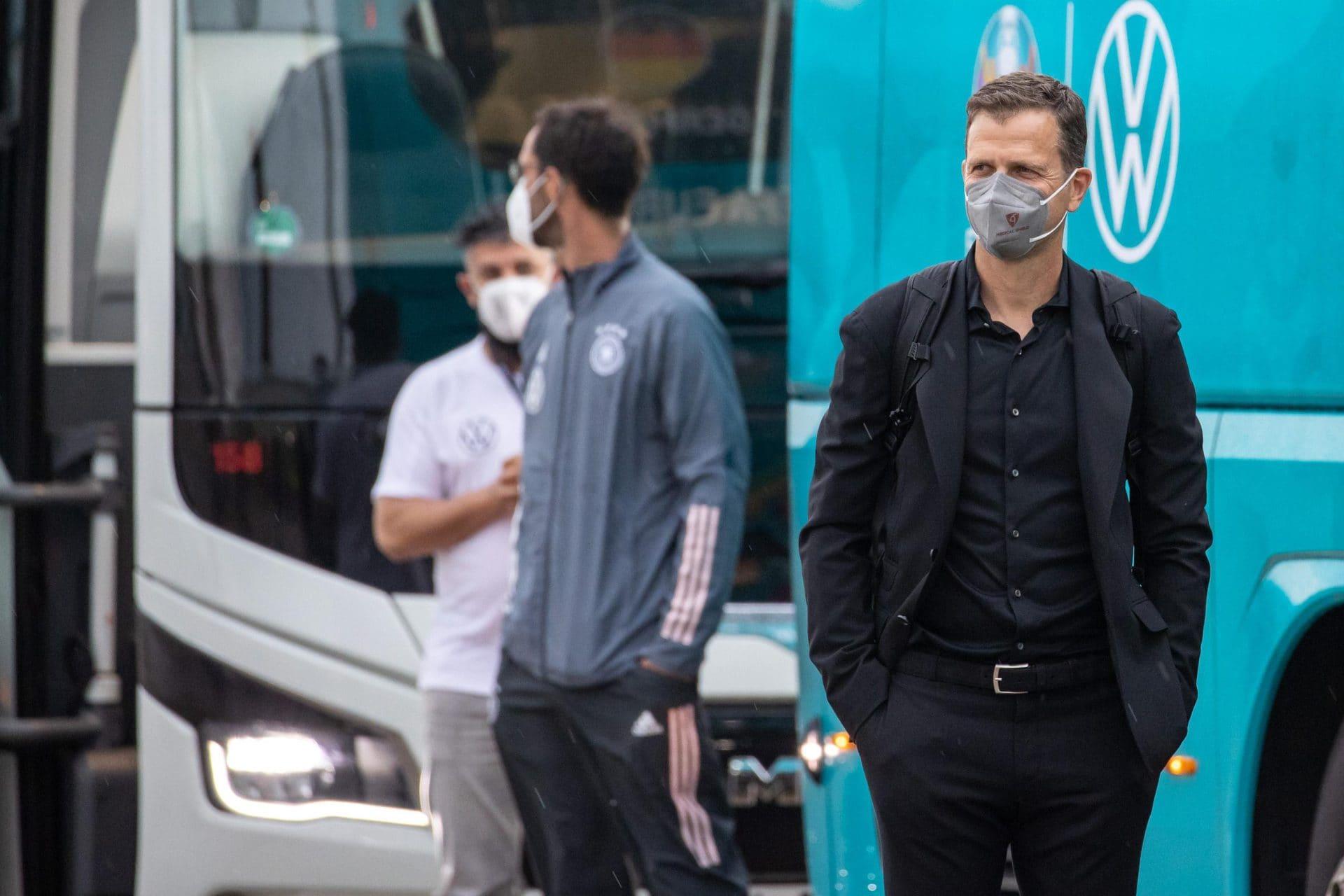 DFB-Direktor Bierhoff «zuversichtlich» für EM Corona-Fälle bei EM-Teams
