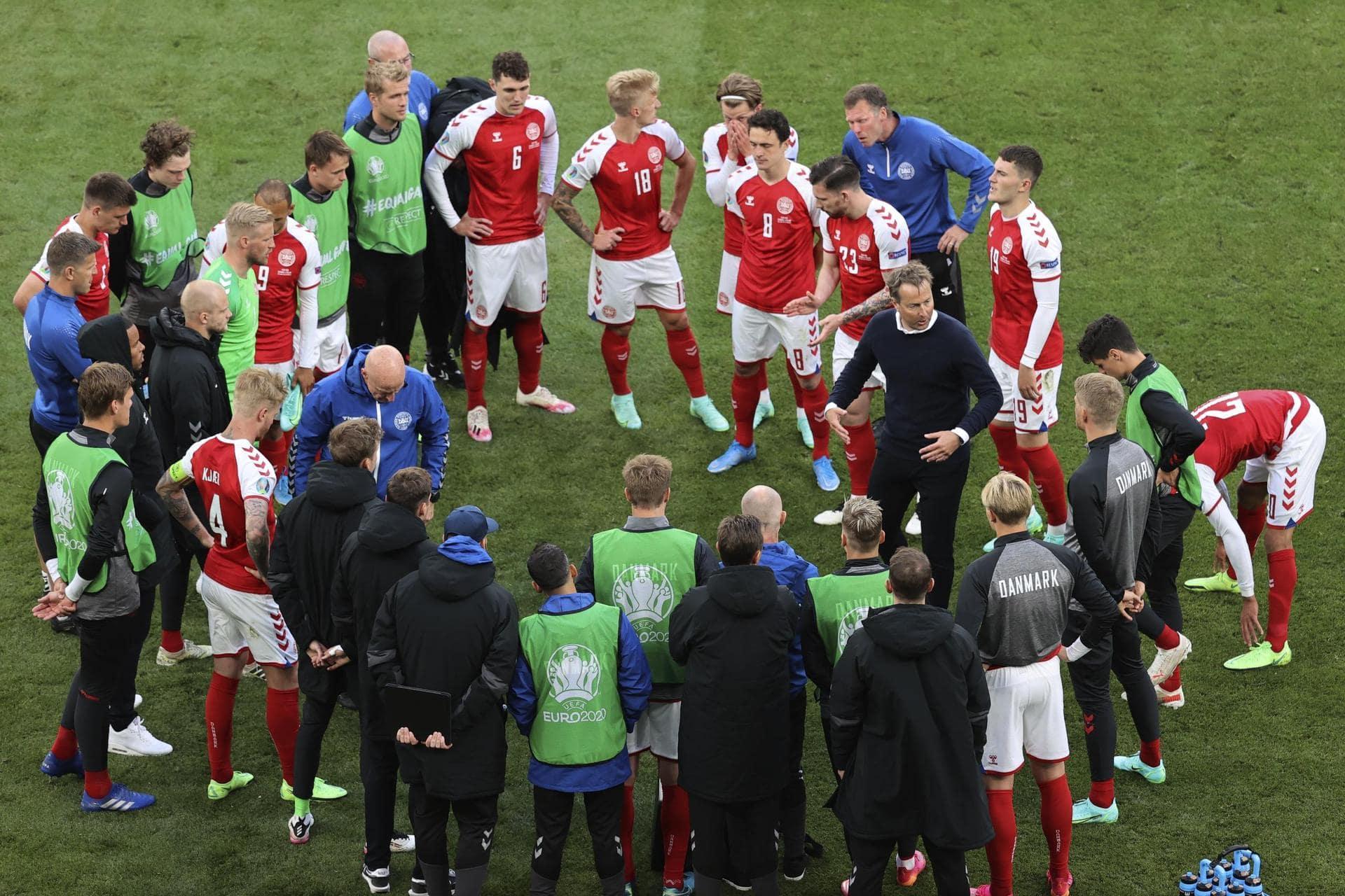 Dänen halten zusammen: «Wir werden für Christian spielen» Nach Kollaps im Finnland-Spiel