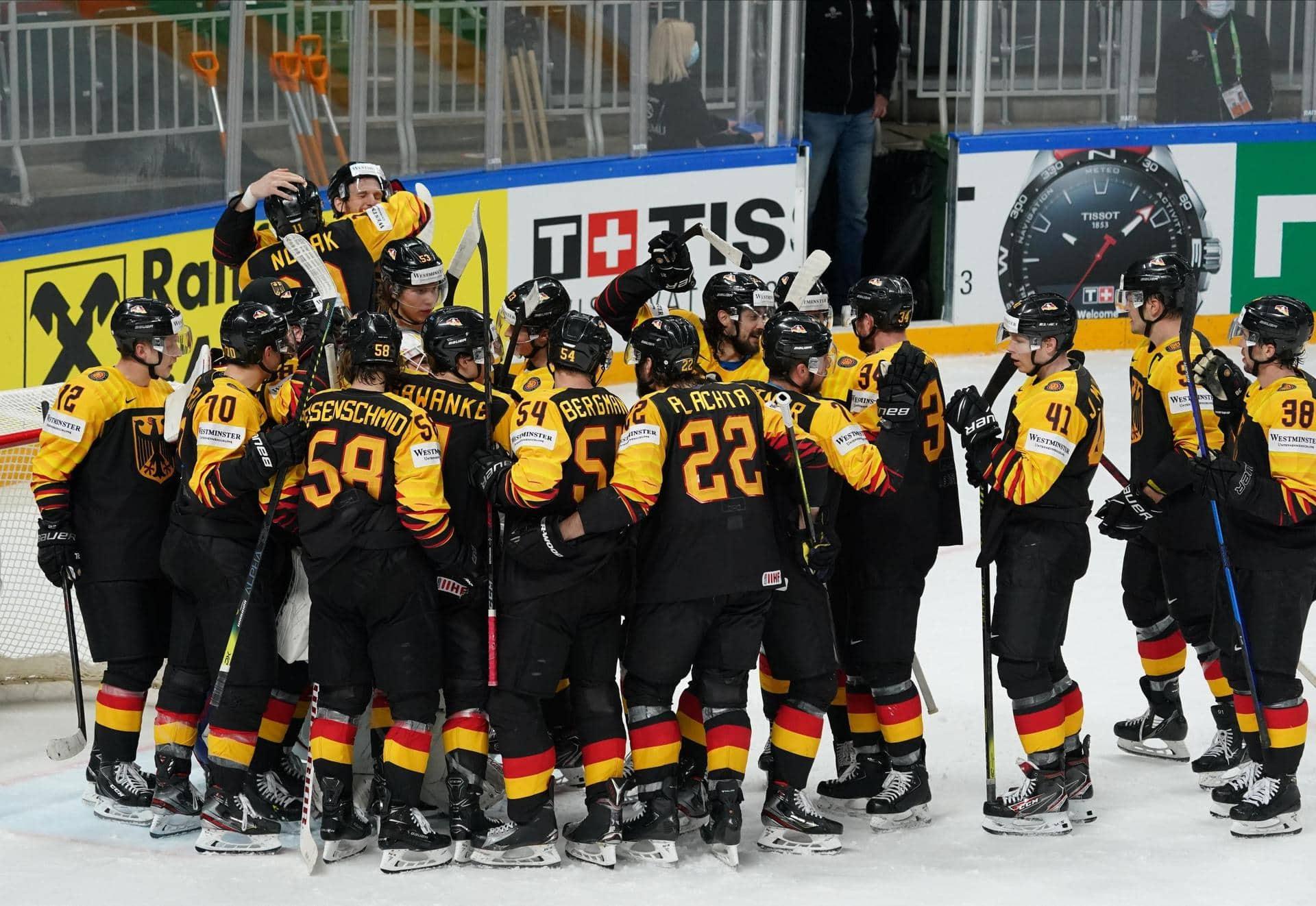 Eishockey-Team fiebert WM-Viertelfinale entgegen Turnier in Riga