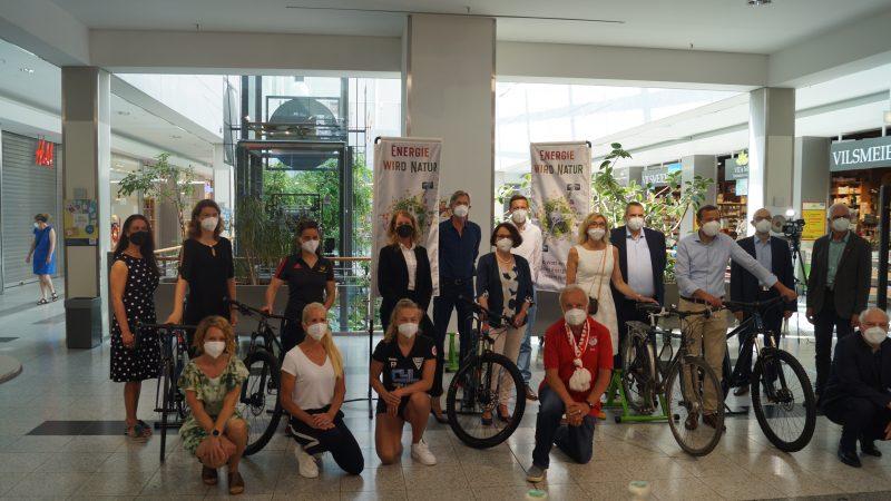 Energie wird Natur Regensburg 2021, Auftakt-Pressekonferenz m 17.6.2021, Donau-Einkaufszentrum (Foto netzwerk natur)