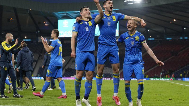 Fußball EM - Schweden - Ukraine